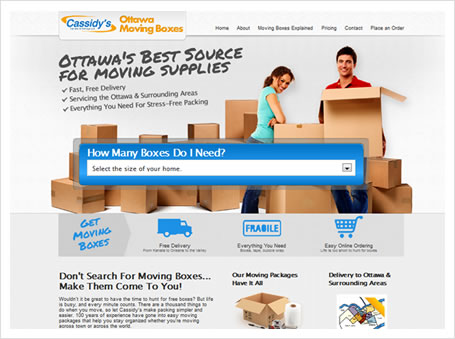 screen shot - Ottawa Moving Boxes