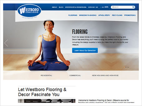 screen shot - Westboro Flooring